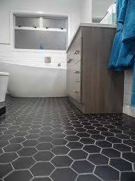 hexagonal bathroom floor tile design furniture