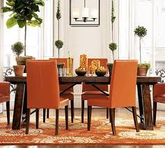 Dining Tables Pottery Barn Style Distressed Wood Dining Table From Pottery Barn New Industrial