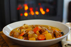 beef and winter vegetable casserole with orange and anise