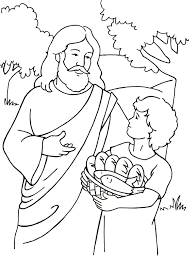 jesus the good shepherd coloring pages jesus feeds 5 000 coloring page could be used with http