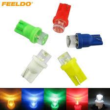dashboard led light bulbs 100pcs auto car t10 194 168 1 led concave led wedge base dashboard