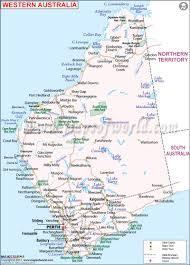 Map Of Western Canada by Western Australia Map Map Of Western Australia Maps Of World