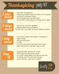helpful thanksgiving planning timeline you can print out