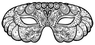 black and white mardi gras masks happy mardi gras antiques in style