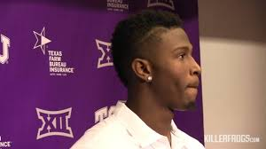 kyle hicks rb tcu press conference november 3 2015 youtube