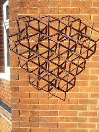 trellis wall sculpture mettle fabrications