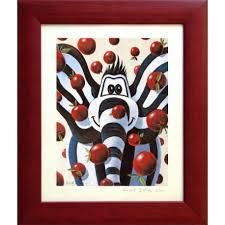 tableau pour chambre d enfant tableau éléphant titou pomme chambre bébé enfant déco murale