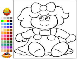 doll coloring pages for kids doll coloring pages youtube