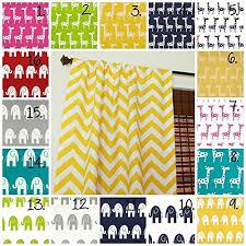 Fabric For Nursery Curtains Nursery Curtain Panels Elephant Drapes Giraffe Curtain