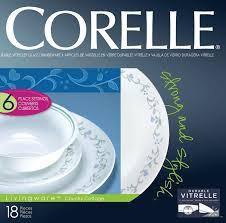 Corelle Dishes Ebay Corelle Country Cottage 18pc Dinner Set Plate Bowl Service For 6