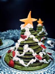 christmas tree pancake stack vegan no added sugar vie de la vegan