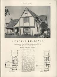 American House Design And Plans 257 Best House Plans 1900 1930s Images On Pinterest Vintage