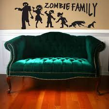 28 zombie wall mural zombie wall murals images zombie wall zombie wall mural 2015 halloween mural art vinyl wall decal zombie family