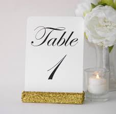 table number card holders gold glittered table number card holder gallery360 designs