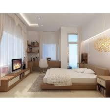Platform Bed No Headboard Bedroom Furniture Sets Mattress Flat Platform Queen Size Bed
