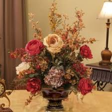 artificial flower arrangements hydrangea silk flower arrangements foter