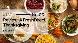 review freshdirect thanksgiving dinner feast kit crocs