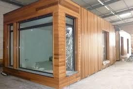 bureau modulaire interieur maison module bois greenkub studio de jardin bois maison en bois