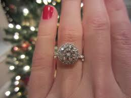 2 carat halo engagement ring 2 carat halo 4 25 ring size help weddingbee