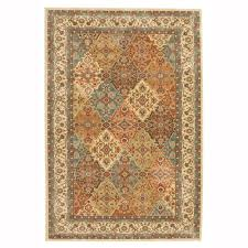 Brown And Beige Area Rug Oriental Area Rugs Rugs The Home Depot