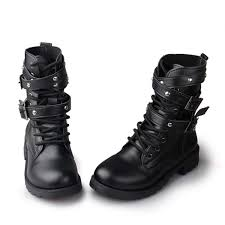 motorcycle boots and shoes sale fashion women motorcycle boots ladies vintage rivet combat