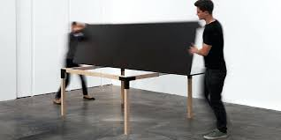 multi purpose dining table pull pong multi purpose table that lets you play ping pong after