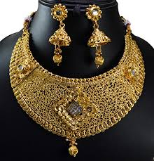 wedding earring necklace set images Gauri 39 s indian traditional bridal gold plated kundan work wedding jpg
