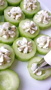 dilly cucumber bites light appetizers cucumber bites and