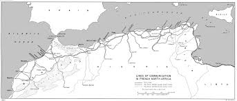 Northwest Usa Map by Hyperwar Us Army In Wwii Northwest Africa Seizing The