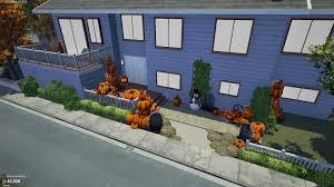 my neighbors refuse to take down their rotting halloween