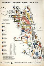chicago housing projects map demographics of chicago