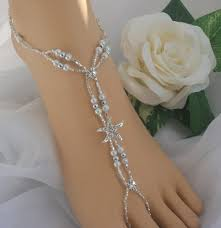 wedding barefoot sandals starfish wedding barefoot sandal bridal foot jewelry anklet