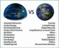 Earth Meme - flat earthers in christ facebook flat earth verses globe earth meme