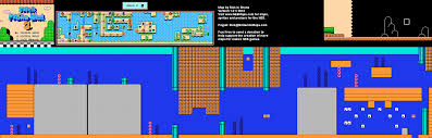 Super Mario World Map by Mario Brothers 3 World 3 1 Nintendo Nes Map Bg