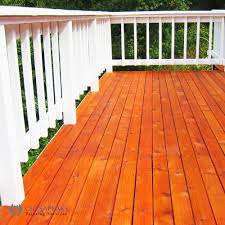 staining and sealing chesapeake painting services