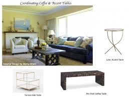 Crate And Barrel Folding Table by How To Coordinate Coffee U0026 Accent Tables Like A Designer Maria