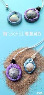 shell necklace making images Make these fun seashell necklaces summer camp activities air jpg