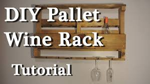 how to build a wine rack in a cabinet pallet wine rack diy tutorial youtube