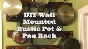 wall mount pot rack ideas 36 trendy interior or diy kitchen pot