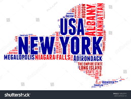 Usa State Map by New York Usa State Map Vector Stock Vector 188322074 Shutterstock