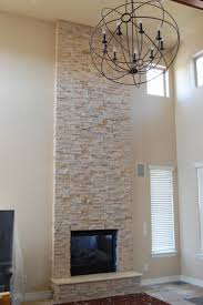 55 best indoor fireplace images on pinterest fireplace ideas painted stacked stone fireplace stack stone