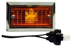 pm m126a rectangular clearance side marker light foxtail