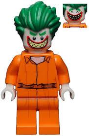 Prison Jumpsuit Bricklink Minifig Sh343 Lego The Joker Prison Jumpsuit