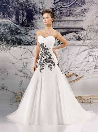 white and black wedding dresses black and white wedding dress designers 14749 black and white