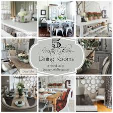 Rustic Laundry Room Decor by Five Rustic Glam Dining Rooms Snazzy Little Things