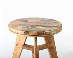 wood furniture handsome wooden furniture uses its own offcuts cured in resin