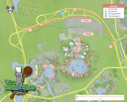 Disney Florida Map by Important Information The Runner U0027s Guide To Wdw U0026 Beyond