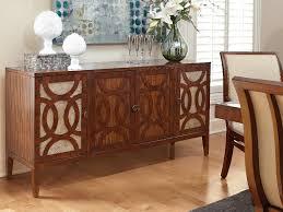 100 buffet table with wine rack baxton studio hannah brown
