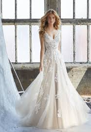 a line wedding dress mori kennedy style 8206 dress madamebridal
