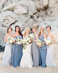 blue gray bridesmaid dresses best 25 mismatched bridesmaids blue ideas on